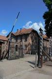 auschwitz συγκέντρωση Πολωνία στ&r Στοκ εικόνες με δικαίωμα ελεύθερης χρήσης