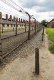 auschwitz συγκέντρωση στρατόπεδ&omeg στοκ εικόνες