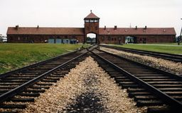 Auschwitz 1 Royalty Free Stock Photos