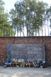 Auschwitz 1 Stockfoto