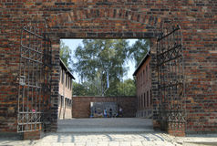 Auschwitz 1 Stockfotos