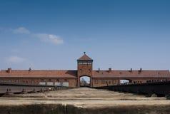 Auschwitz (1) birkenau Zdjęcia Stock