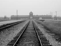 Auschwitz fotografía de archivo libre de regalías