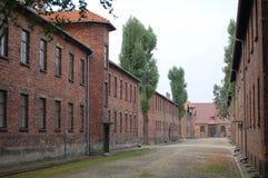 Auschwitz Royalty-vrije Stock Afbeelding