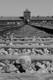 Auschwitz. Concentration camp Auschwitz - Birkenau in Poland stock image