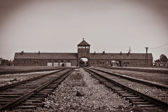 Auschwitz Royalty Free Stock Photography