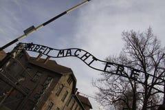 Auschwitz Lizenzfreies Stockbild