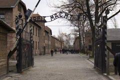 auschwitz Στοκ φωτογραφίες με δικαίωμα ελεύθερης χρήσης