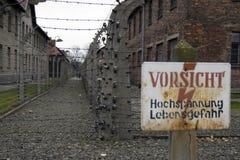 Auschwitz Stockbilder