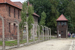 Auschwitz Imagen de archivo libre de regalías