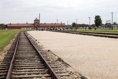 Auschwitz Foto de archivo