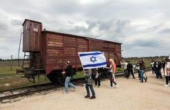Auschwitz Fotos de archivo