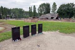 Auschwitz stock foto's