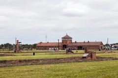 Auschwitz Fotos de archivo libres de regalías
