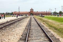 Auschwitz Imagen de archivo
