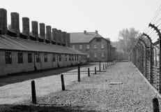 Auschwitz fotografia de stock