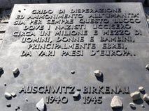 Auschwitz 4 Royalty Free Stock Photography