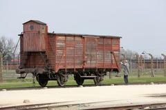 Auschwitz The biggest  II Birkenau. Royalty Free Stock Images