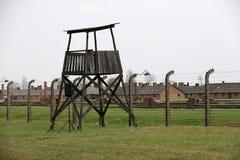 Auschwitz The biggest  II Birkenau. Stock Photography
