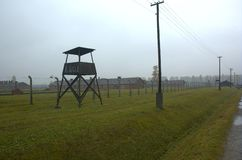 Auschwitz Birkanau image stock