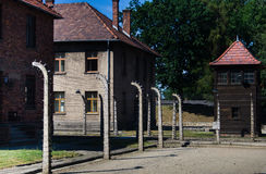Auschwitz-Birkenau Royalty Free Stock Images