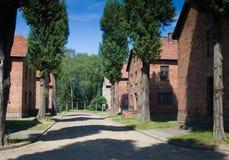 Auschwitz-Birkenau Royalty Free Stock Images
