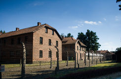 Auschwitz-Birkenau Stock Photo