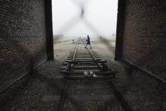 Auschwitz - Birkenau. December 5th 2009. Concentration Camp Oswiecim - Birkenau, Poland royalty free stock photo