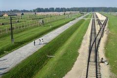 Auschwitz Birkenau Lizenzfreies Stockbild