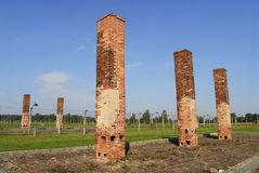 Auschwitz Birkenau Stock Images