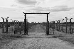 Auschwitz Birkenau stock photos