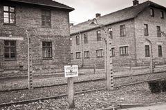 auschwitz birkenau Στοκ φωτογραφίες με δικαίωμα ελεύθερης χρήσης