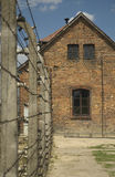 Auschwitz-Birkenau. Photo from concentration camp Auschwitz-Birkenau. Many people know the Birkenau camp simply as Auschwitz; it was larger than Auschwitz I, and Royalty Free Stock Image