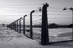 Auschwitz / Birkenau Stock Photography