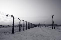 Auschwitz / Birkenau Stock Photo