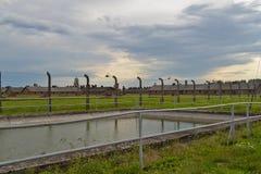 Auschwitz-Birkenau Foto de Stock