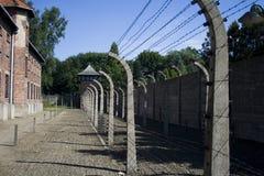 Auschwitz-Birkenau Fotografia Stock