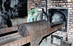 Auschwitz-Birkenau Fotografia de Stock