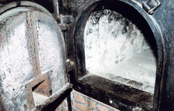 Auschwitz-Birkenau imagem de stock