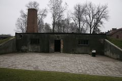 Auschwitz Birkenau 1940 - 1945 Stock Images