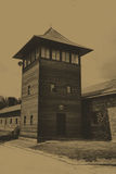 Auschwitz Birkenau camp Stock Image