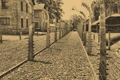 Auschwitz Birkenau camp Royalty Free Stock Photo