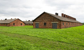 Auschwitz-Birkenau Camp Royalty Free Stock Images