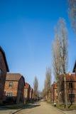 Auschwitz-Birkenau concentratiekamp, Polen Royalty-vrije Stock Fotografie