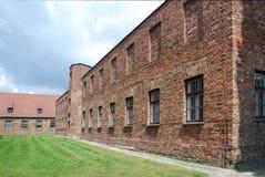 Auschwitz Birkenau concentration camp Stock Photos