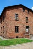 Auschwitz Birkenau concentration camp Royalty Free Stock Photo