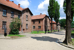 Auschwitz Birkenau concentration camp Stock Images