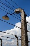 Auschwitz Birkenau concentration camp. royalty free stock photos