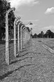 Auschwitz Birkenau concentration camp. Stock Photo