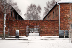 Auschwitz Birkenau Concentration Camp Stock Image